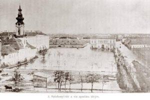 Das Hochwasser 1879