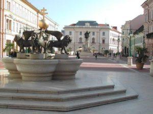 Szeged zum ersten Mal